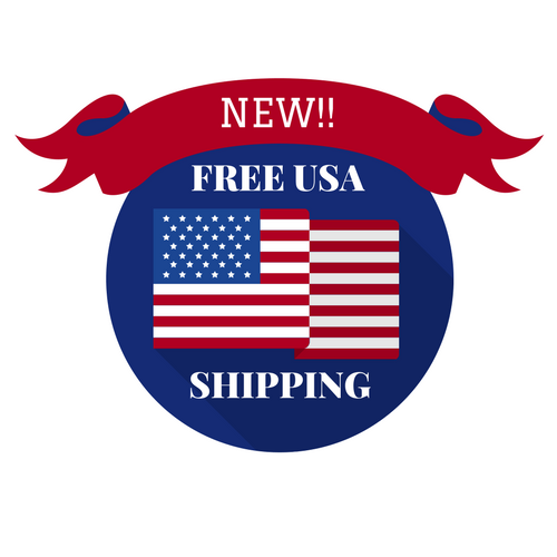 FREE USA First Class Shipping