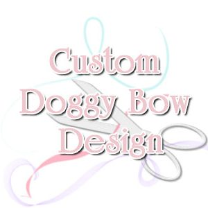"5/8"" Custom Dog Bow"